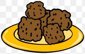 Cliparts Cookie Platter - Spaghetti With Meatballs Kxf6ttbullar Swedish Cuisine Clip Art PNG