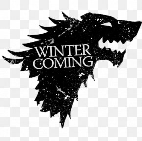Winter Is Coming Logos - Daenerys Targaryen Winter Is Coming Sansa Stark House Stark PNG