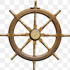 Rudder - Ship's Wheel Rudder Boat Stock Photography PNG