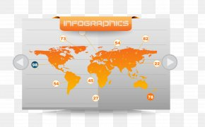 Map Icon On The Page - World Language World Language Infographic Information PNG