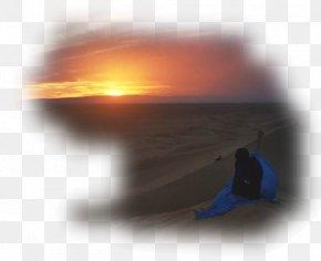 Soleil - Sunset Day Çölde Günbatımı Africa Desktop Wallpaper PNG