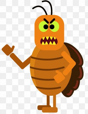 Cockroach - New York City Insect Emoji Cockroach Clip Art PNG