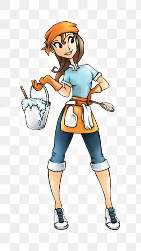 Cleaning Cliparts - Cleaner Maid Service Housekeeping Domestic Worker Cleaning PNG