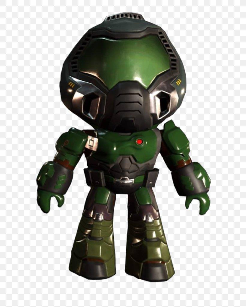 Doomguy Cyberdemon Figurine Fangame Png 633x1024px Doom