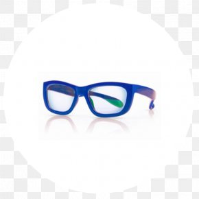 Light Blue Shading - Goggles Sunglasses Effects Of Blue Light Technology Eye PNG