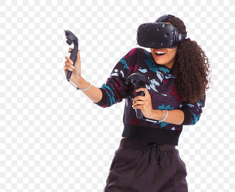 HTC Vive Virtual Reality Headset Oculus Rift Atomic VR Virtual Reality Arcade, PNG, 670x670px, Htc Vive, Cap, Game, Google Cardboard, Headgear Download Free
