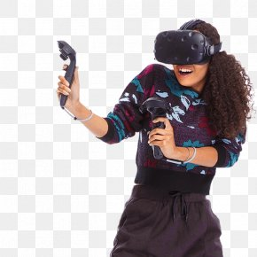 HTC Vive Virtual Reality Headset - HTC Vive Virtual Reality Headset Oculus Rift Atomic VR Virtual Reality Arcade PNG