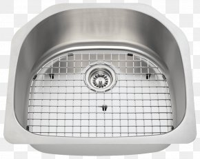 Stainless Steel Kitchenware - Kitchen Sink Kitchen Sink Stainless Steel Tap PNG