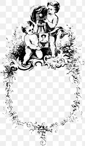 Foreign Baby Black And White Illustrations - Black And White Drawing Illustration PNG