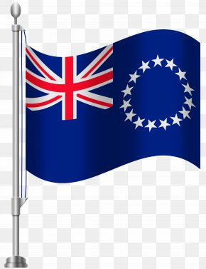 Flag Banner - Flag Of New Zealand Flag Of The Cook Islands PNG