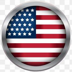USA Oval Decoration Transparent Clip Art Image - Flag Of The United States FlagandBanner.com Regional Indicator Symbol Flag Protocol PNG