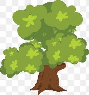 Cartoon Vector Green Trees - Shrub Clip Art PNG