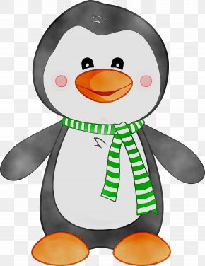 The Penguin In The Snow Drawing Cuteness Clip Art PNG