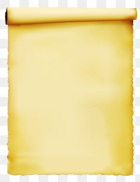Rectangle Scroll - Yellow Scroll Rectangle PNG