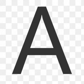 Letter A - Letter Case Sans-serif PNG