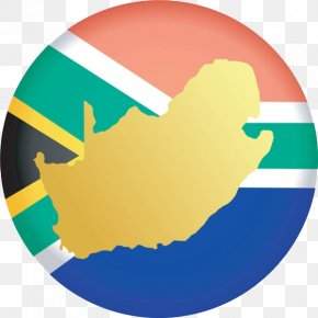 A Map Of South Africa On A Badge - South Africa Map Photography Clip Art PNG