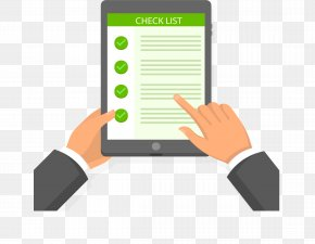 Tablet On The List - Euclidean Vector Download Icon PNG