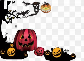 Funny Halloween Pumpkins PNG