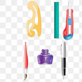 Cartoon Drawing Tools - Pen Drawing Cartoon PNG