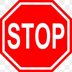 Stop Sign - Priority Signs Stop Sign Traffic Sign Clip Art PNG