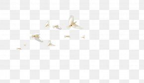 Flock Of Birds - White Angle Pattern PNG