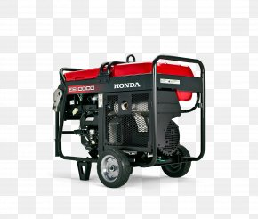Honda - Electric Generator Honda Car Motor Vehicle Engine-generator PNG