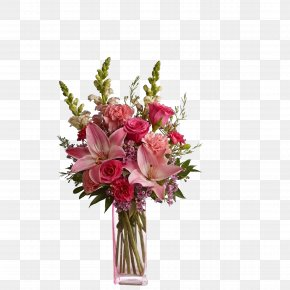 Vase - Flower Bouquet Mothers Day Floristry Valentines Day PNG