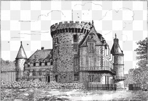 Castle - Drawing Graphic Arts PNG
