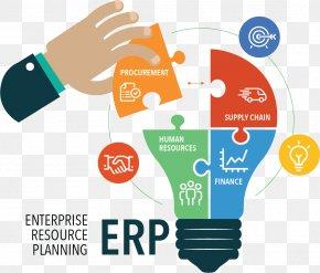 Business Elements - Enterprise Resource Planning Computer Software Management Business System PNG