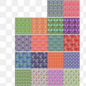 Fabric - Textile Quilting Patchwork Place Mats PNG