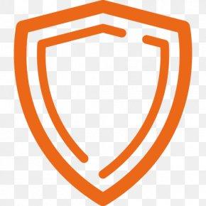 Logo Orange - Orange Background PNG