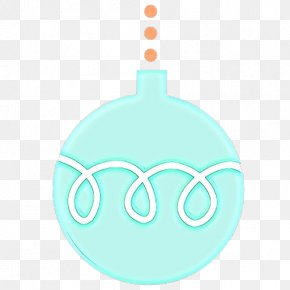Ornament Teal - Aqua Turquoise Teal Turquoise Ornament PNG