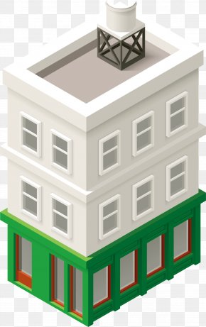 Technology Building - Architecture Building Cartoon PNG