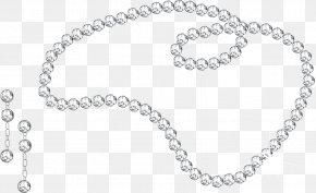 Necklace - Earring Jewellery Diamond Clip Art PNG