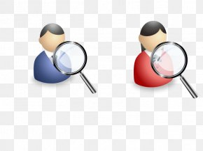 Vector Business Search - Euclidean Vector Magnifying Glass Icon PNG