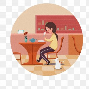 Booklet Cartoon - Illustration Cartoon Human Behavior Shoulder PNG