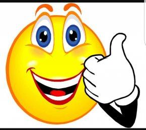 Goodbye - Smiley Thumb Signal Emoticon Clip Art PNG