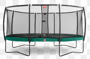High Resolution Trampoline Icon - Trampoline Safety Net Enclosure Jumping Sport PNG