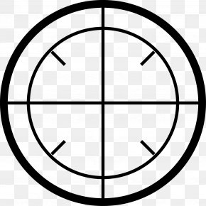 Military Aiming Circle Icon Free Matting - Aether Symbol Alchemy Clip Art PNG