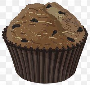 Cake Chocolate Chip - Muffin Cupcake Baking Cup Brown Baking PNG
