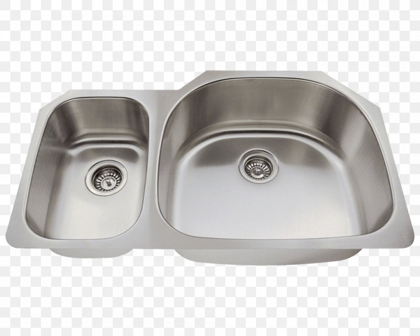 Kitchen Sink Stainless Steel Kitchen Sink, PNG, 1000x800px, Sink, Bathroom Sink, Bowl, Bowl Sink, Brushed Metal Download Free
