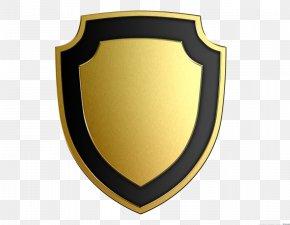 Black Shield - Shield Gold Clip Art PNG