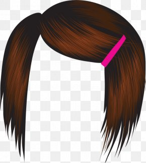 Hair - Hairstyle Comb Brown Hair Clip Art PNG