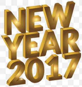 New Year - New Year's Day Clip Art PNG