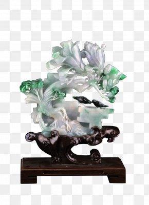 Artwork - Portrait Of The Postman Joseph Roulin Sculpture Jadeite Work Of Art PNG