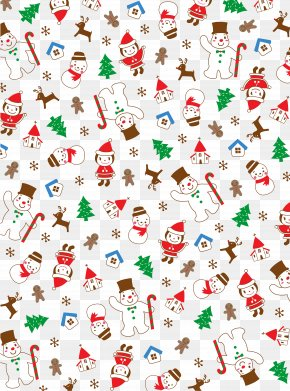 Christmas Shading Pattern - Christmas Santa Claus Icon PNG