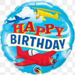 Birthday - Happy Birthday To You Mylar Balloon Party PNG
