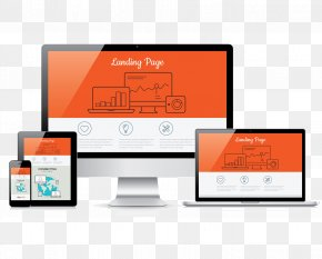 Balance Ecommerce - Landing Page Digital Marketing Responsive Web Design PNG