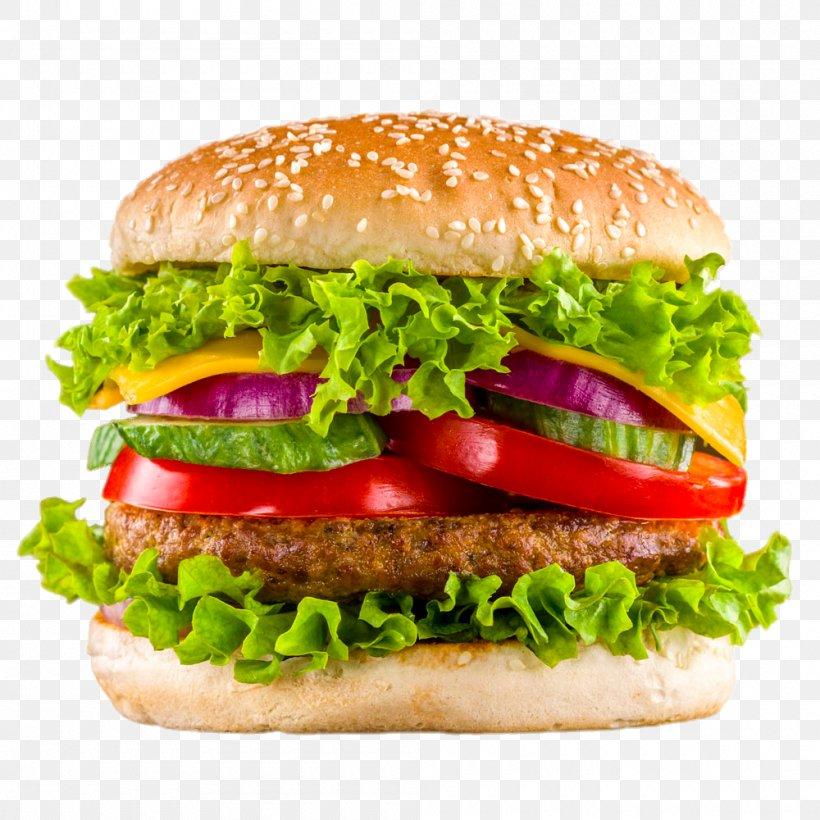 Hamburger Veggie Burger Take-out Fast Food Kebab, PNG, 1000x1000px, Hamburger, American Food, Barbecue Grill, Beefsteak, Blt Download Free
