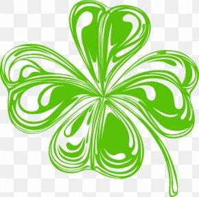 Saint Patrick - Shamrock Saint Patrick's Day Clover Clip Art PNG